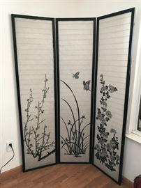 Oriental/Asian Folding Screen