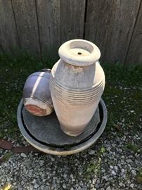 Pottery foutain