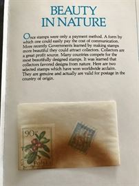 nature collectible stamp