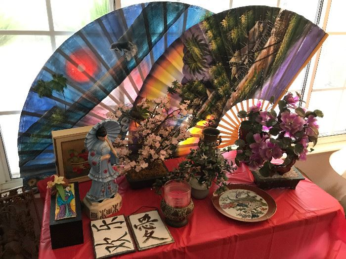 Asian/Oriental Fans, Collectibles