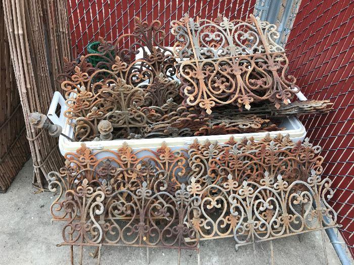 Vintage Garden border fencing