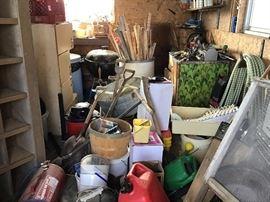 Garden and out door equipment