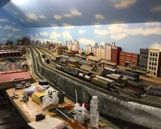 Train set up HO