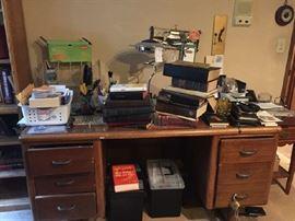 huge office desk very heavy
