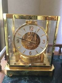 Rare Atmos clock. Runs beautifully. $350