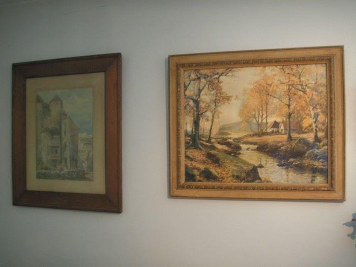 Lots of art prints