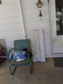 vintage yard chair