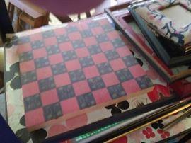 checkerboard folk
