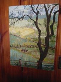Oil PaintingnSouthern Kentucky Artist HALL
