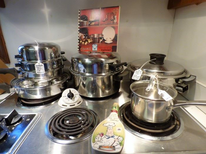 """Towncraft """"Chef's Ware"""" Cookware Set with Book"""