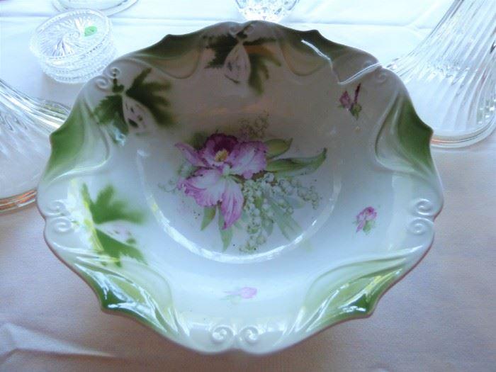 Antique German Porcelain Bowl