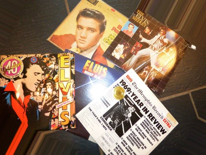 And MORE Elvis LP Albums