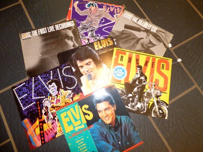 MORE Elvis LP albums
