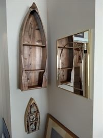 Row Boat Shelf