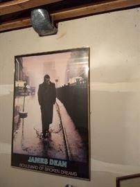 Large James Dean Poster