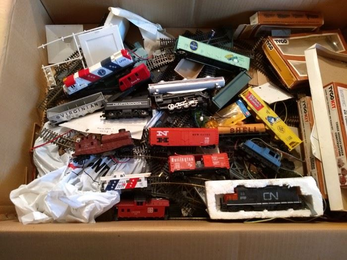 HO Trains $50 All