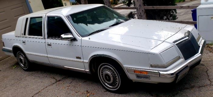 1991 Chrysler Imperial in great condition. 70k original miles.