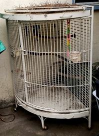 Large Iron Parrot cage