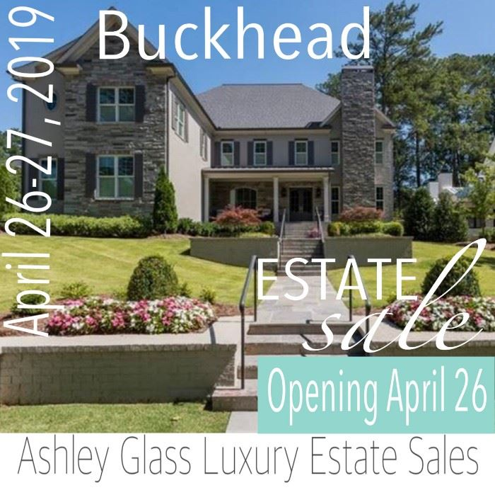 $2.7 Million Dollar Home Luxury Estate Sale By Ashley Glass Luxury Estates  In Buckhead, April 26 27
