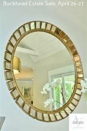 72 Kitchen Round Mirror