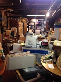 Lots of boxes to unpack!