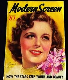 "1935 ""Modern Screen"" Magazine with Cover Art by Earl Christy"