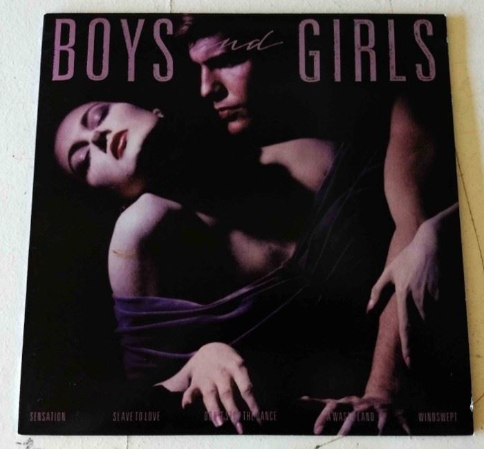 "Vintage Album- Bryan Adams ""Boys and Girls"""