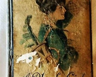 "Antique Book: ""A Plucky Girl"" by Mrs. L. T. Meade with Earl Christy Cover Artwork"