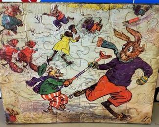 Vintage Jigsaw Puzzle by Elmer Rache
