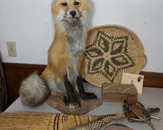 Red Fox mounted