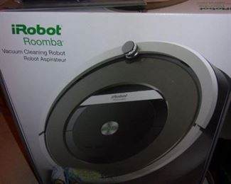 iRobot Roomba, like new, in box with additional filters.