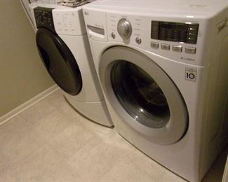 Washer 1 yr and Electric dryer