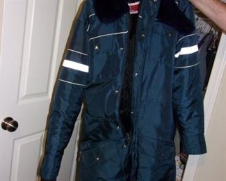 Men's snowmobile suit, size Med-Tall.