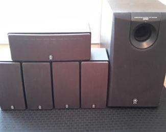 Yamaha cinema surround sound system.