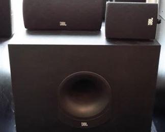 JBL cinema surround sound system.