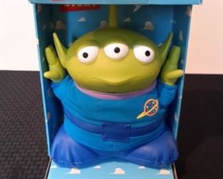 Toy Story's Talking Alien, new in box. Needs batteries.