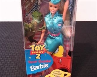 Toy Story 2's Tour Guide Barbie, new in box.