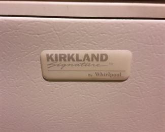 Kirkland Signature by Whirlpool freezer.