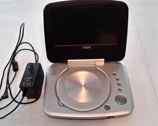 Coby portable DVD player.