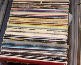 MANY LP's! Lot's of 1970's artists as well as 1950-60's music as well.