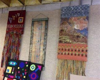 Textile artwork.