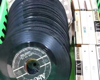 MANY LP's and 45's! Lot's of 1970's artists as well as 1950-60's music as well.
