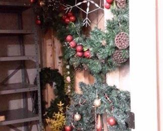 Christmas wreaths.