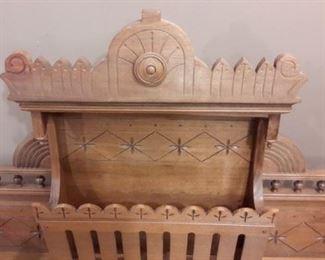 Organ topper...makes a beautiful twin headboard!