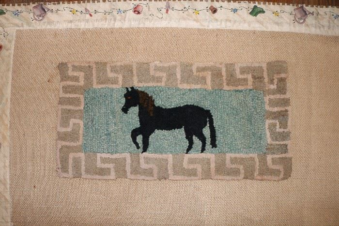 One of many Hook Rugs