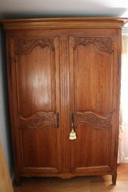 One of a Pair of Antique Armoires