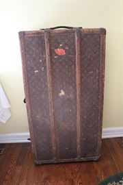 Early 20th century Louis Vuitton Wardrobe Trunk