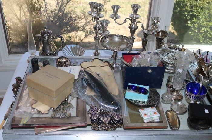 Tiffany & Co., J.E. Caldwell, Reed & Barton, Cartier, Gorham, J. Caranon Nimes