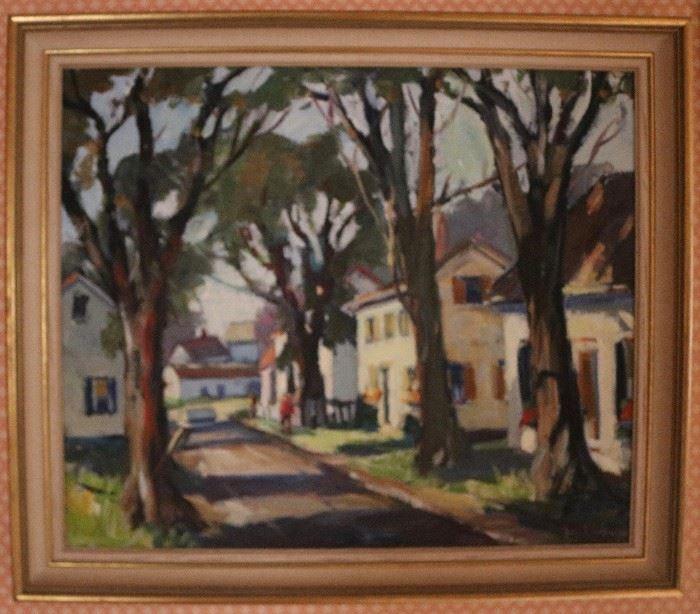Original oil by Pearl Aiman Van Sciver