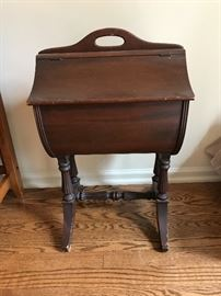Vintage sewing chest